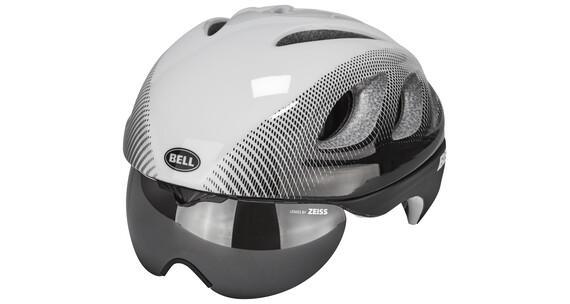 Bell Star Pro Shield Helmet White/Black Blur